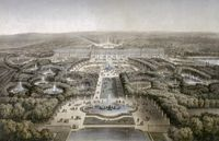 André Le Nôtre - les jardins de Versailles du temps de Louis XIV