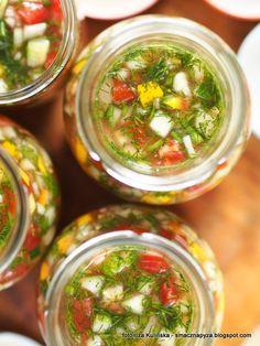 Calzone, Salsa, Coleslaw, Preserves, Pickles, Cucumber, Food And Drink, Menu, Treats