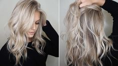 Blond hair colors - choose your ideal one! My Hairstyle, Pretty Hairstyles, Hair Color And Cut, Hair Colour, Blonde Fall Hair Color, Winter Blonde, Brunette Color, Blonde Highlights, Ashy Blonde