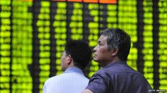 2015-07-09 11:26:27 Mainland Chinese shares were trading erratically on Thursday as regulators continued trying to calm the markets, reports BBC. The Shanghai Composite index was up as much as 1.4% in mid-morning trade after falling 3.6% earlier. A move to ban big investors from selling stocks may have soothed investor worries, analysts said.