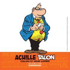 Ex-libris spécial pour la dédicace du 17/09/14. Dessin de Serge Carrère. #Dargaud #BD #AchilleTalon