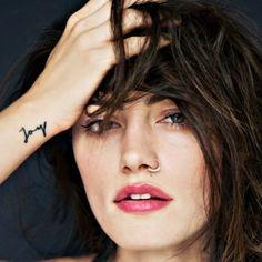 Phoebe Tonkin #tattoo #tattoologist #tattoologistofficial #joy