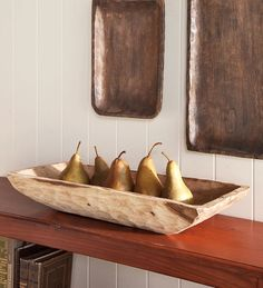 wooden bowl, maybe not the fruit, but I love wooden products