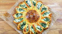 Sonnen Börek mit Spinat und Feta