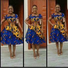 African women midi dresses / short African print dress for women / Ankara midi dress / african clothing for women / Ankara clothing African Prom Dresses, Latest African Fashion Dresses, African Print Fashion, Ankara Fashion, African Dress Styles, African Women Fashion, African Prints, African Attire, African Wear
