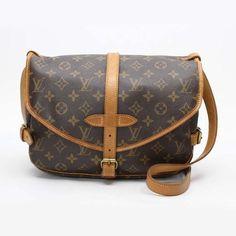 Louis Vuitton Saumur 30 Monogram Cross body bags Brown Canvas M42256
