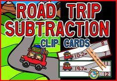 REDUCED PRICE FOR A LIMITED TIME!  30 #SUBTRACTION CLIP CARDS!  This hands-on fun pack, containing 30 clip cards, is ideal to practice subtraction within 10 and 20 in a fun and interactive way. It is great for centers and home-schooling.   There are 3 sets of clip cards so that you can #differentiate the activity according to each student's level: 10 clip cards: subtraction within 10 10 clip cards: subtraction within 15 10 clip cards: subtraction within 20