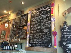 Santa Cruz Mountain Brewery - to have a break from site seeing