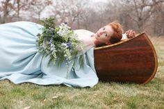 """lady of shallot""-like refined bohemian"
