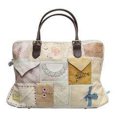 Love Letters Overnight Bag...adorable and perfect for a nanny on the go!