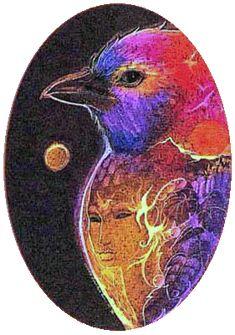 bluebird, Susan Seddon Boulet, 1977