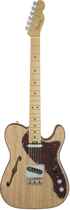 Thinline & Semi-hollow Classic Fender Fun Fender is bringing new things to the table in 2016, among them the American Elite Telecaster Thinline. Fully embracing innovation and quality, this semi-hollo