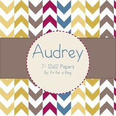 #Free Digital Papers: Audrey
