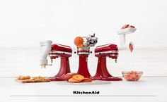 With your KitchenAid Stand Mixer Attachments you can do so much more with your Stand Mixer than ever before. From making homemade pasta, or spiral potato chips to fresh burgers. For Everything You Want To Make. Much love from KitchenAid Africa xx.