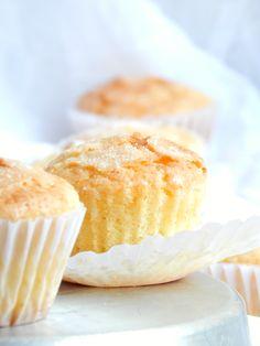 Deliciosos y clásicos muffins de crema. Nutella Muffins, Peanut Butter Muffins, Applesauce Muffins, Coffee Cake Muffins, Cinnamon Muffins, Chocolate Chip Muffins, Breakfast Muffins, Vegan Scones, Vegan Muffins
