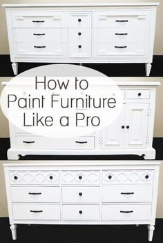 Diy Crafts Ideas : How To Paint Furniture Like a Pro