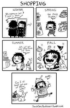 Doodle Time: Sarah See Andersen Comics