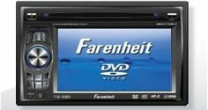 "Farenheit 5.8"" Wide Touch Screen Double Din In-Dash TFT Monitor DVD/AM/FM/Tuner by Unknown. $99.99. Electronic Touch Screen functions include Tuner & OSD functions *  DVD, CD, MP-4, MP-3, CDR, CDRW Player NTSC/PAL compatible * All functions are displayed on screen via OSD (eight languages) * 30-second electronic anti-shock mechanism *  Accessory I-Pod Input Connection (Cable not Included) *  USB mini input (excluding cable) for MP-3 Music or MP-4 Movies *  Accepts Sanyo CD..."