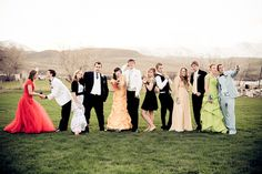 Couples being characteristically themselves. Cute MC Prom 2011 by alan-lawrence.com, via Flickr