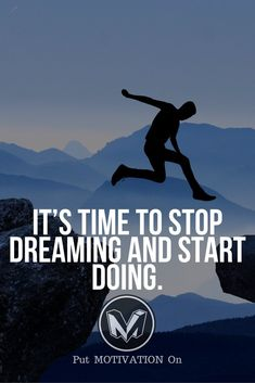 Start doing. Follow all our motivational and inspirational quotes. Follow the link to Get our Motivational and Inspirational Apparel and Home Décor. #quote #quotes #qotd #quoteoftheday #motivation #inspiredaily #inspiration #entrepreneurship #goals #dreams #hustle #grind #successquotes #businessquotes #lifestyle #success #fitness #businessman #businessWoman #Inspirational
