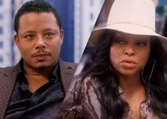 Terrence Howard as Lucious Lyon and Taraji P. Henson as Cookie in Empire. Lucious Lyon, Serie Empire, Empire Season, Hip Hop, Taraji P Henson, Family Theme, Empire State Of Mind, New Fox, Sombreros