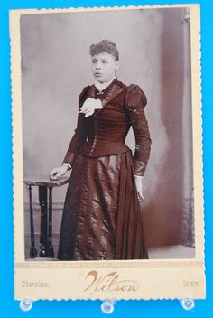 Antique Cabinet Card Photo, ID'd, Young Boy, DONALD DAVIDSON, Ill ...