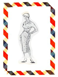 Vintage Sewing Pattern in any size by GreaserGirlClothing on Etsy