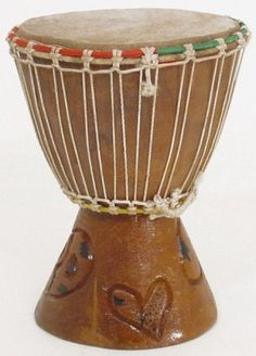 """7"""" Extra Small Authentic Handmade Djembe Drum - Traditional African Musical Instrument by African Music. $23.95"""
