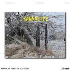 Kansas Ice Post Card
