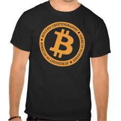 Our Bitcoin Logo Type 2 T-Shirt. Bitcoin, you can be your own bank. High resolution Bitcoin logo design just for you. Spread the word of Bitcoin, Vires in Numeris, Strength in Number people's choice crypto currency technology.