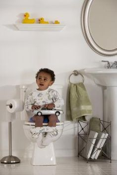 How To Make a Child Sit Still During Potty Training
