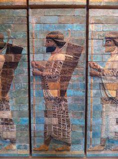 Uit het paleis vsn koning Darius Musee du Louvre