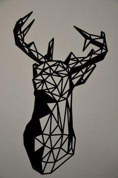 geometric deer - Google zoeken
