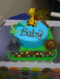 Baby shower cake I made