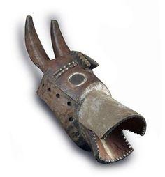 Mumuye Vaa-Bong Helmet Mask, Nigeria http://www.imodara.com/item/nigeria-mumuye-vaa-bong-initiation-helmet-mask/
