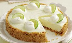 no carb dessert recipes, chestnut dessert recipes, the best dessert recipes - Mary Berry Special Part Two: Lemon and lime cheesecake Easy Cheesecake Recipes, Cheesecake Desserts, Köstliche Desserts, Delicious Desserts, Mary Berry Desserts, Mousse Cheesecake Recipe, Condensed Milk Cheesecake Recipes, Mary Berry Cake Recipes, Gluten Free Cheesecake