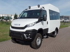 New Iveco Daily - Minibus Bus euro 6 emission. For sale at pk trucks. Truck Camper, Camper Van, Iveco Daily 4x4, Adventure Campers, Concrete Mixers, Heavy Duty Trucks, Expedition Vehicle, Van Camping, Land Rover Defender