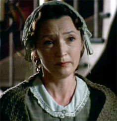 Resembles Elizabeth Gaskell, this is the fine actress, Leslie Manville, who played Margaret Hale's mother, Maria. (I loved her in Topsy Turvey!!)
