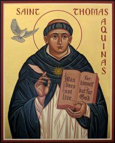 Sr Thomas Aquinas icon