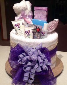 Spa Towel Cake van CindleBoutique op Etsy