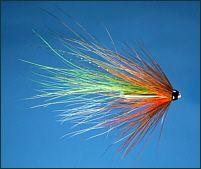 Salmon Tube Fly -The Green Millert