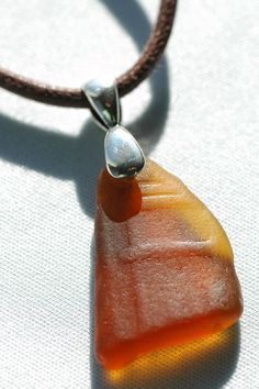 Great texture on this sea glass piece!