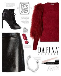 """""""Dafina Jewelry"""" by yexyka ❤ liked on Polyvore featuring Sonia Rykiel, Yves Saint Laurent, MICHAEL Michael Kors, Paolo, Marc Jacobs, Chanel and dafinajewelry"""