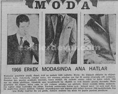 1966 Erkek Modasında Ana Hatlar