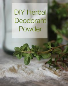 Enjoy this all natural deodorant solution!