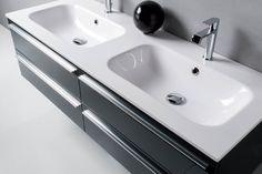 Lavabo doppio cm 140,5. Mineral Marmo Brillante. Euro Bagno arredobagno e Mobili da bagno bathroom furniture since 1973.