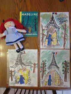 from Lacy - Wanted to share some pictures of our chalk pastel pictures. My kids are 4, 6, and 8, and they all love the pastels! We do them with baby wipes on the table, and the second they're finished with them we slide them into clear plastic page protectors. This really cuts back on the mess, and makes them easy to add to our homeschool binders. Thanks so much for providing a terrific resource to the homeschool community!