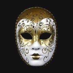 Volto decor aria gold mask