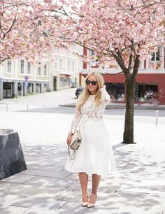 Lace + Midi • CathInTheCity