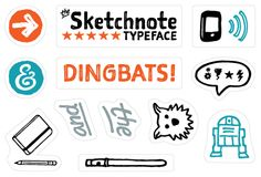 My blog post announcing The Sketchnote Typeface.
